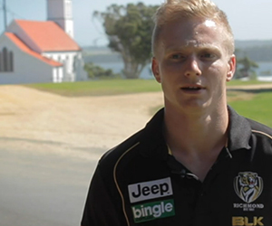 Nathan Drummond on Community Camp
