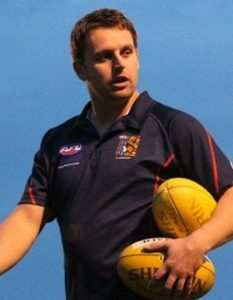 Aaron Clark in his previous role with AFL Victoria